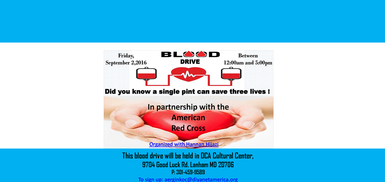 DCA Blood Drive