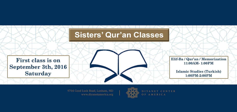 Sisters Quran Classes