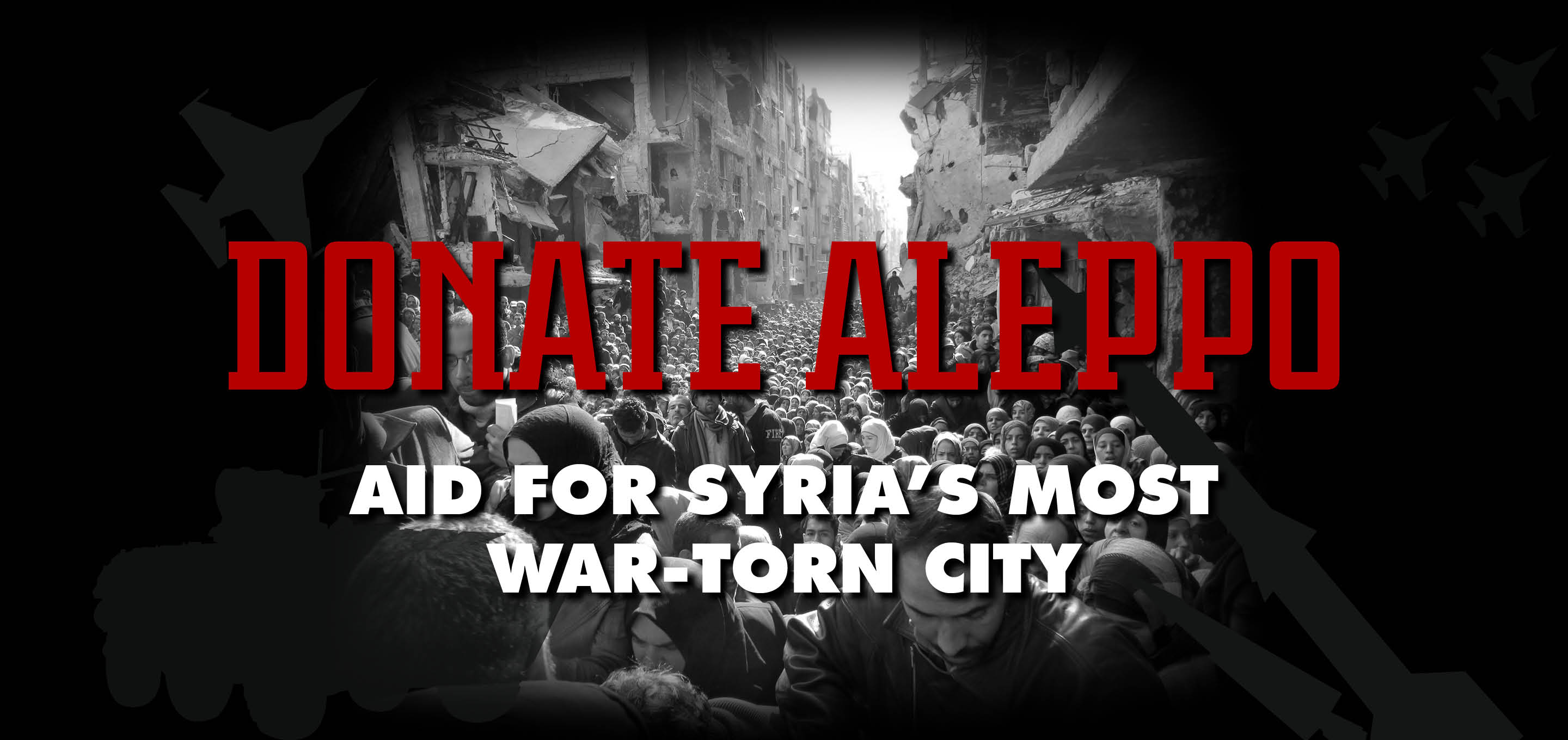 Donate and Aid to Aleppo