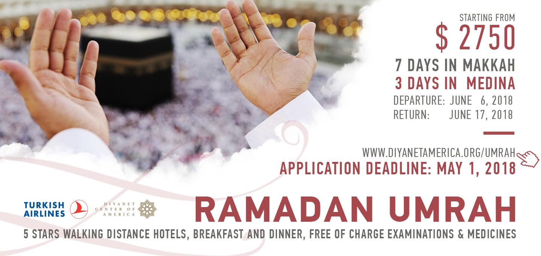2018 Ramadan Umrah