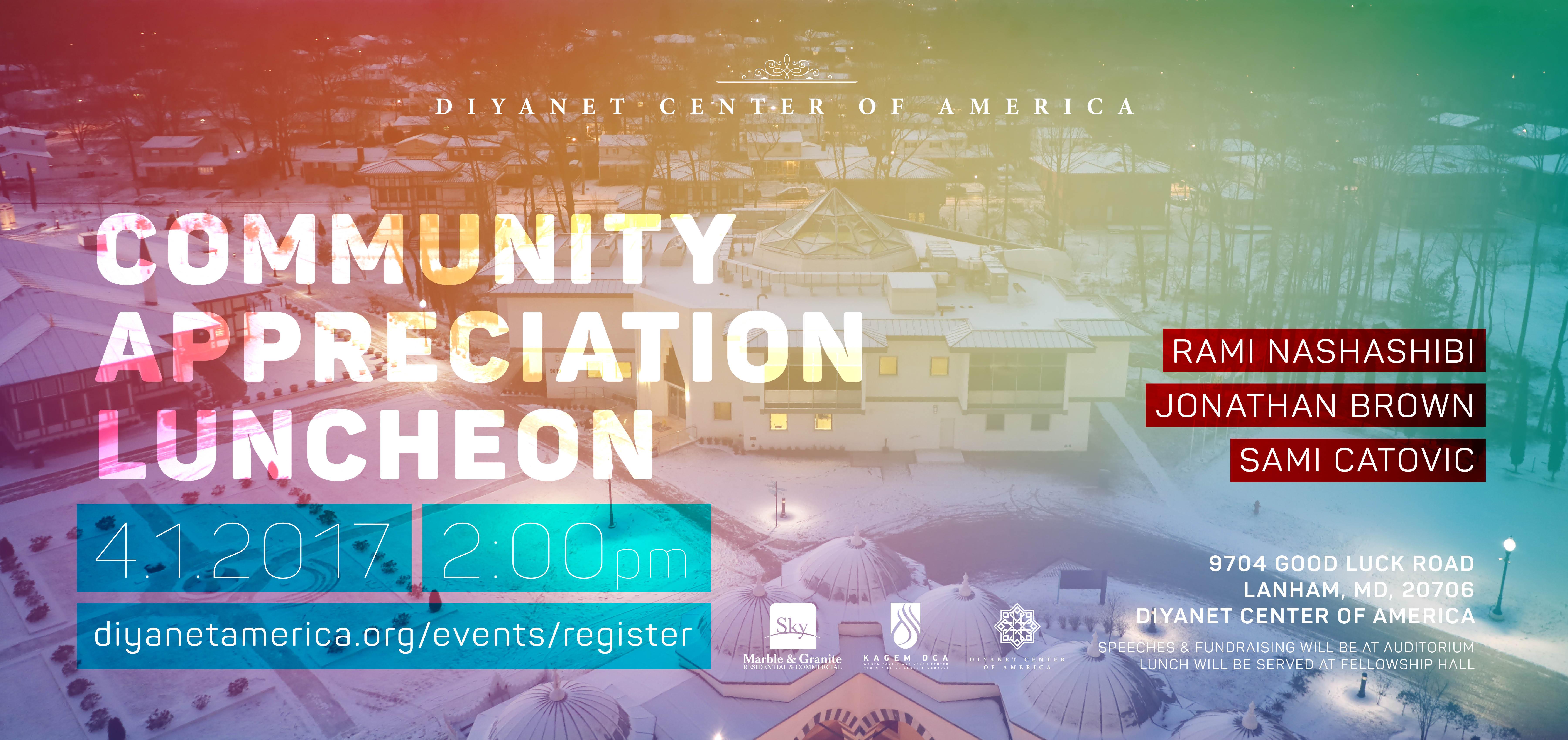 Annual Community Appreciation Luncheon