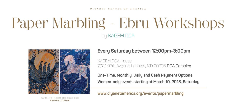 Paper Marbling - Ebru Workshops