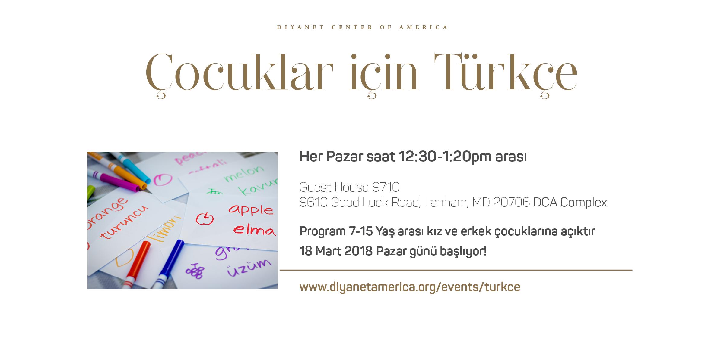 Çocuklar için Türkçe