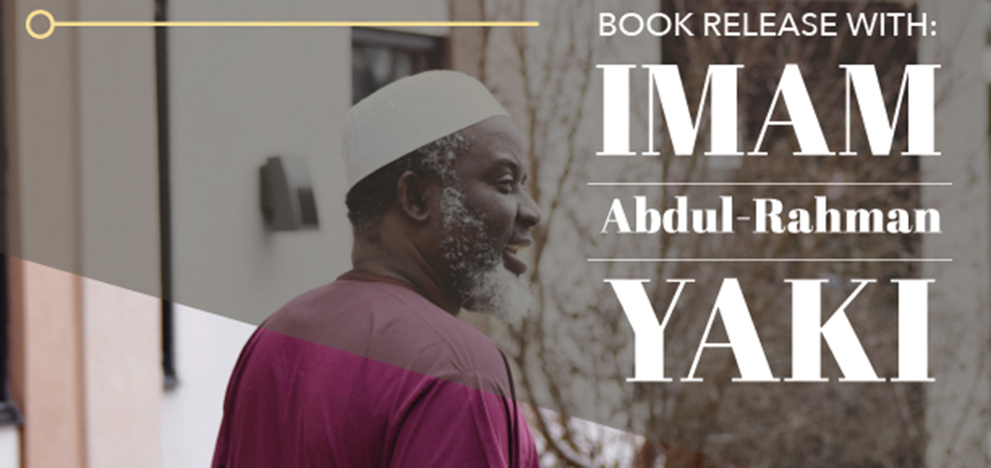Book Release with Imam Abdul Rahman Yaki