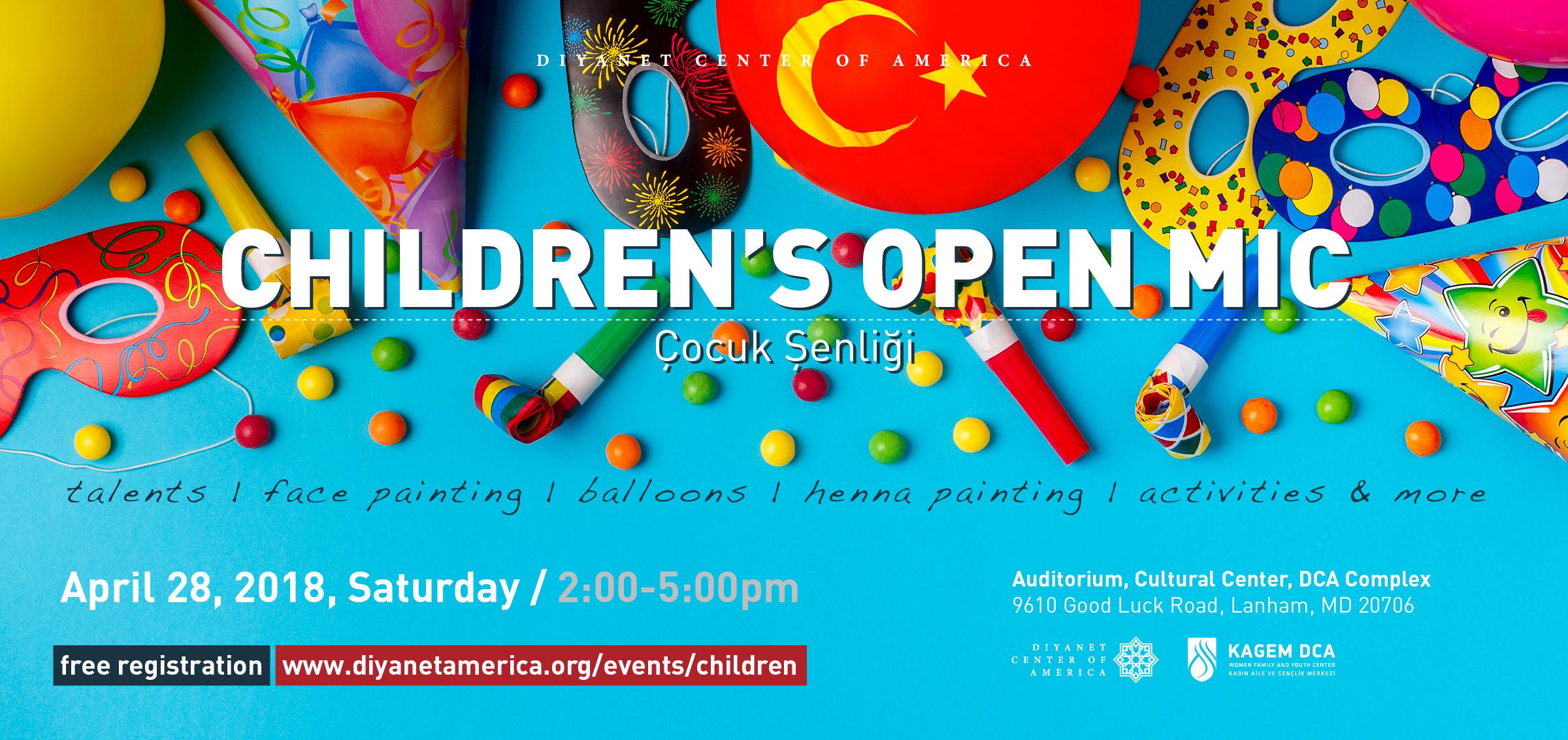 Children's Open Mic - Çocuk Şenliği