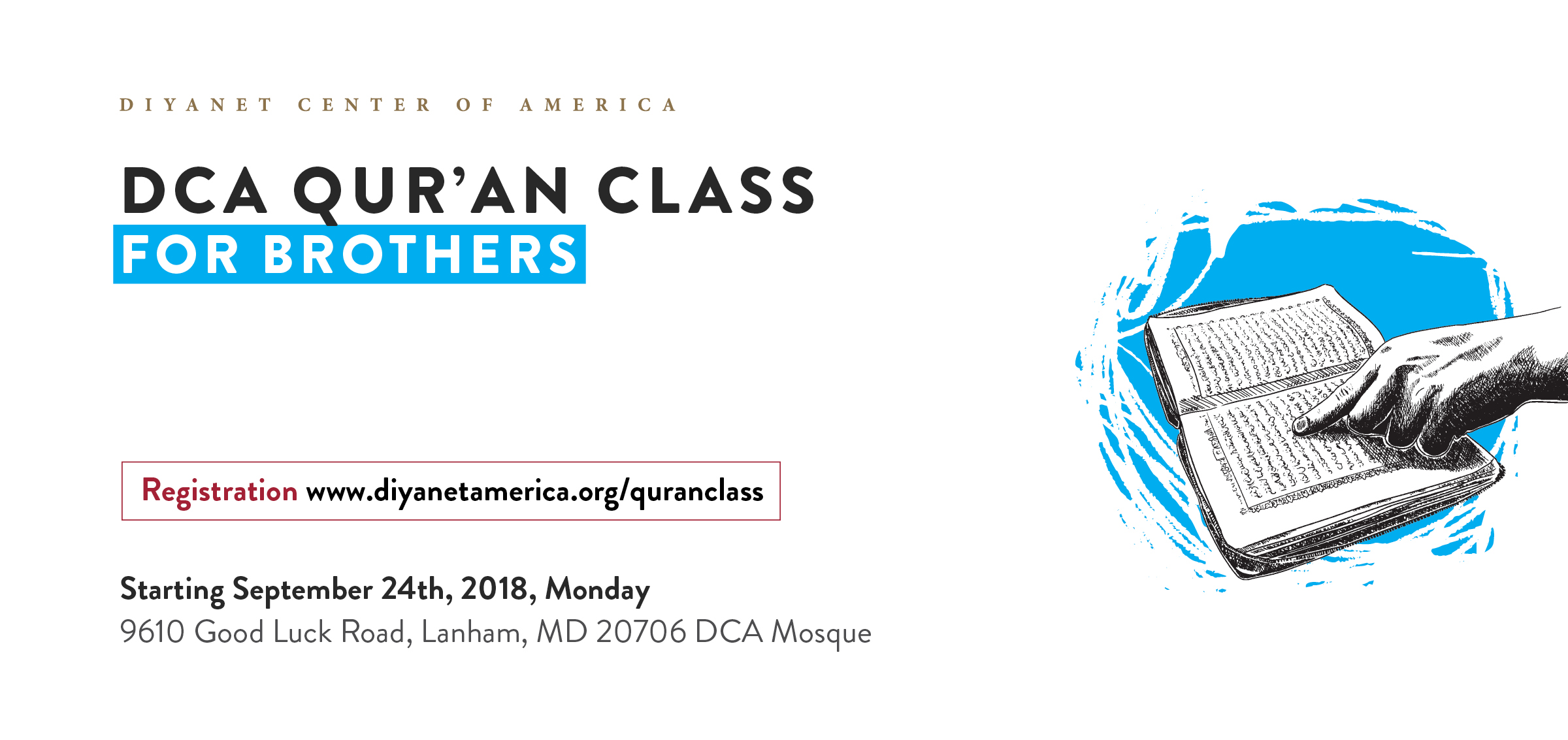 Qur'an Class for Brothers