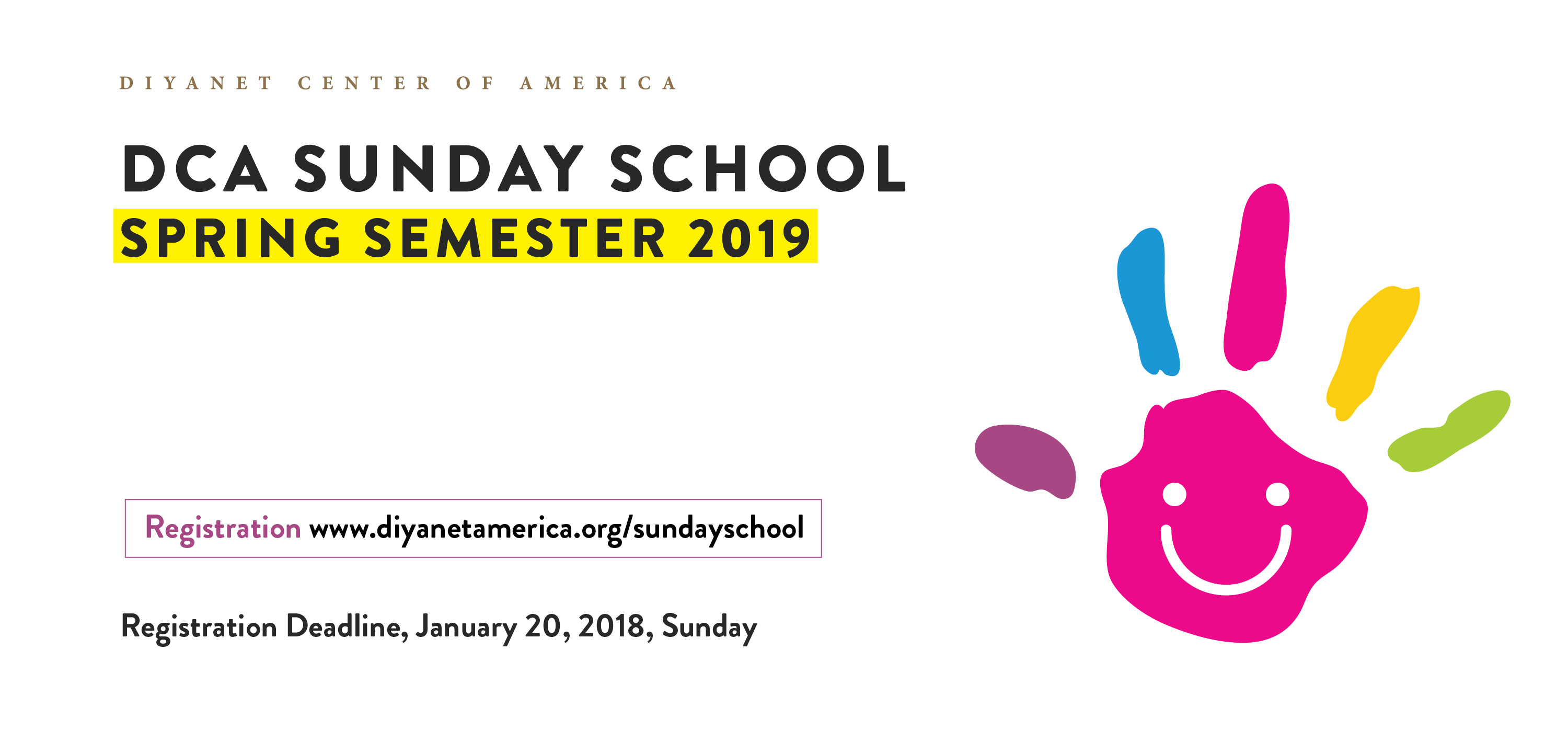 DCA Sunday School Spring Semester 2019