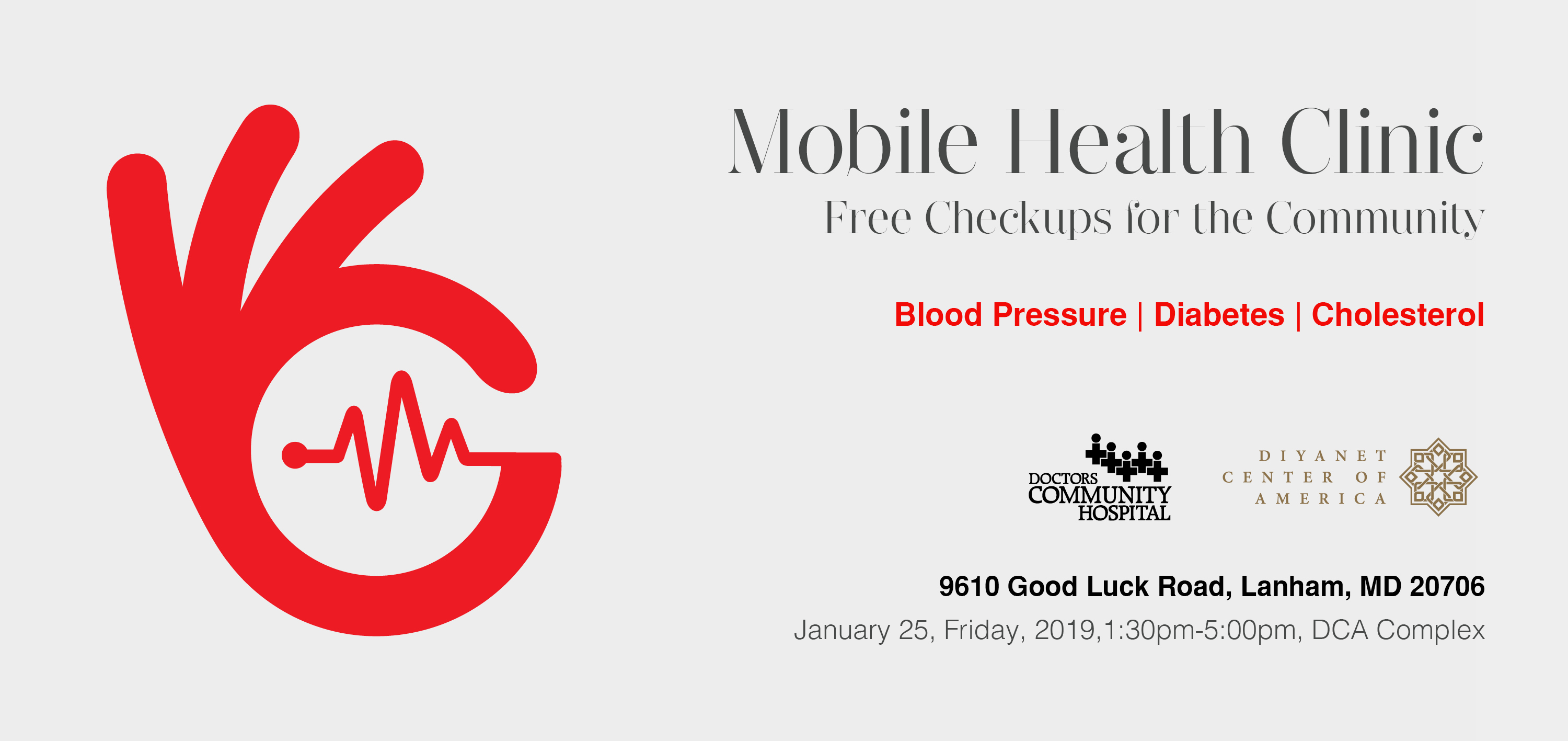 Mobile Health Clinic - Free Checkups for the Community