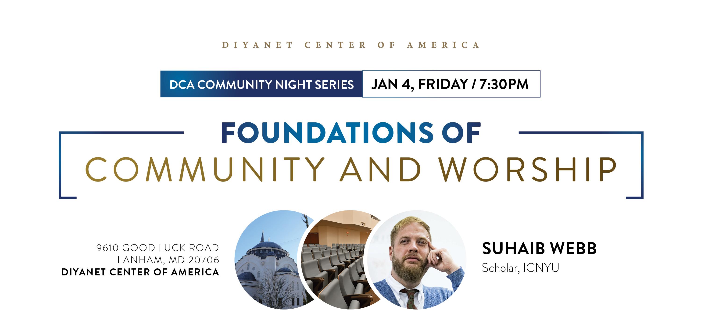 DCA Community Night with Imam Suhaib Webb