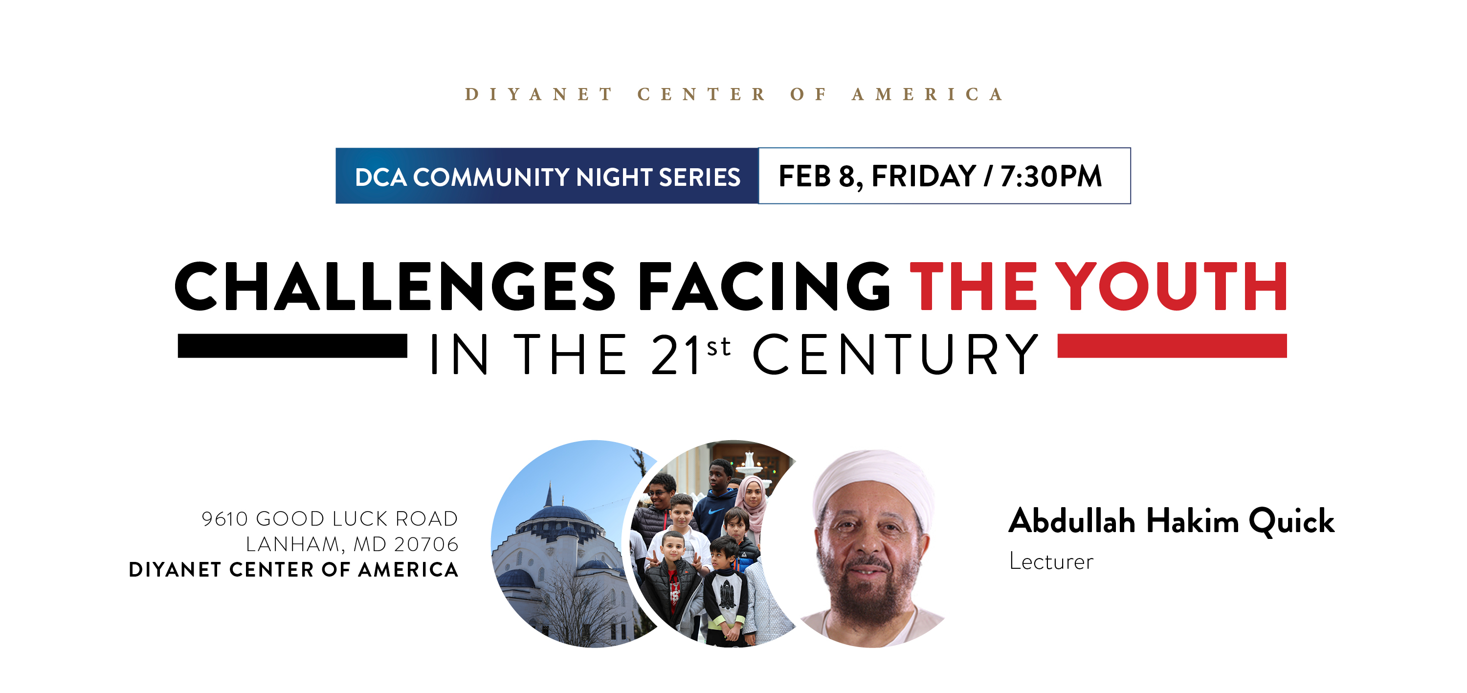 DCA Community Night with Shaykh Abdullah Hakim Quick