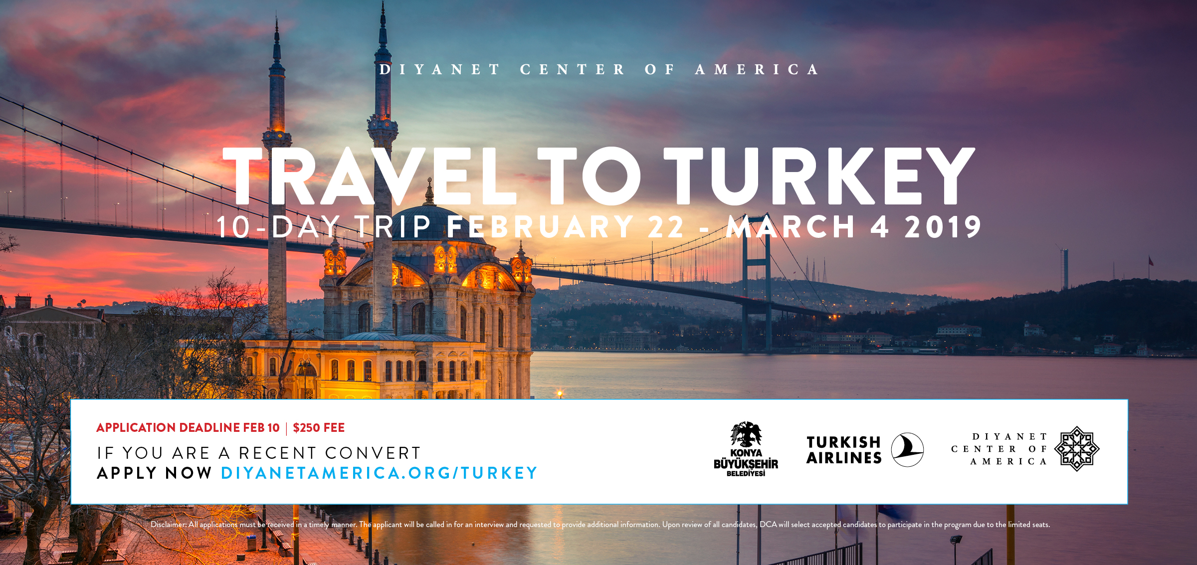 Travel to Turkey Program