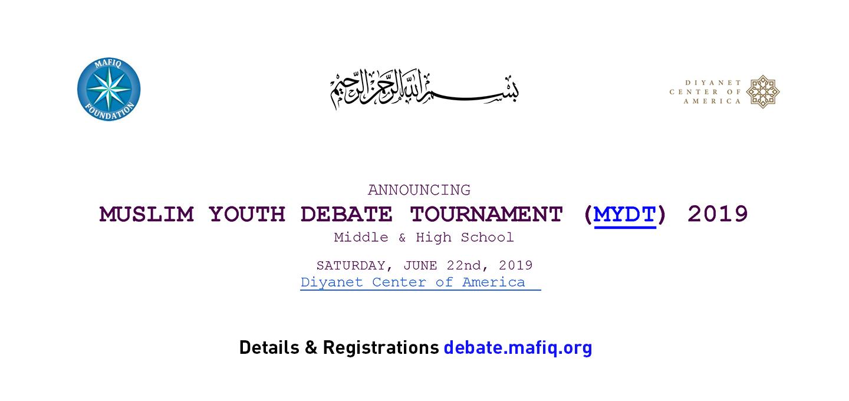 Muslim Youth Debate Tournament 2019