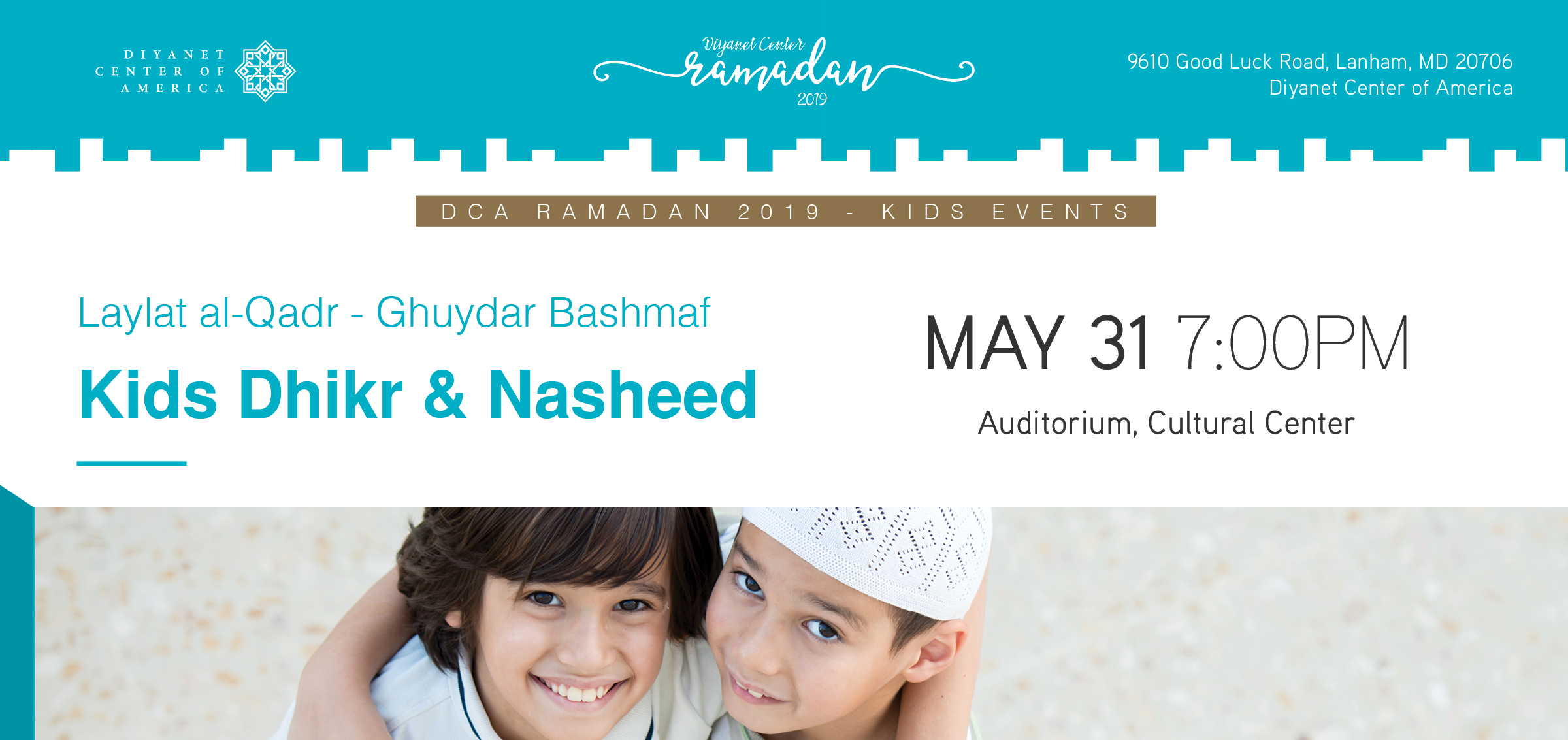 Dhikr & Nasheed Workshop For Kids