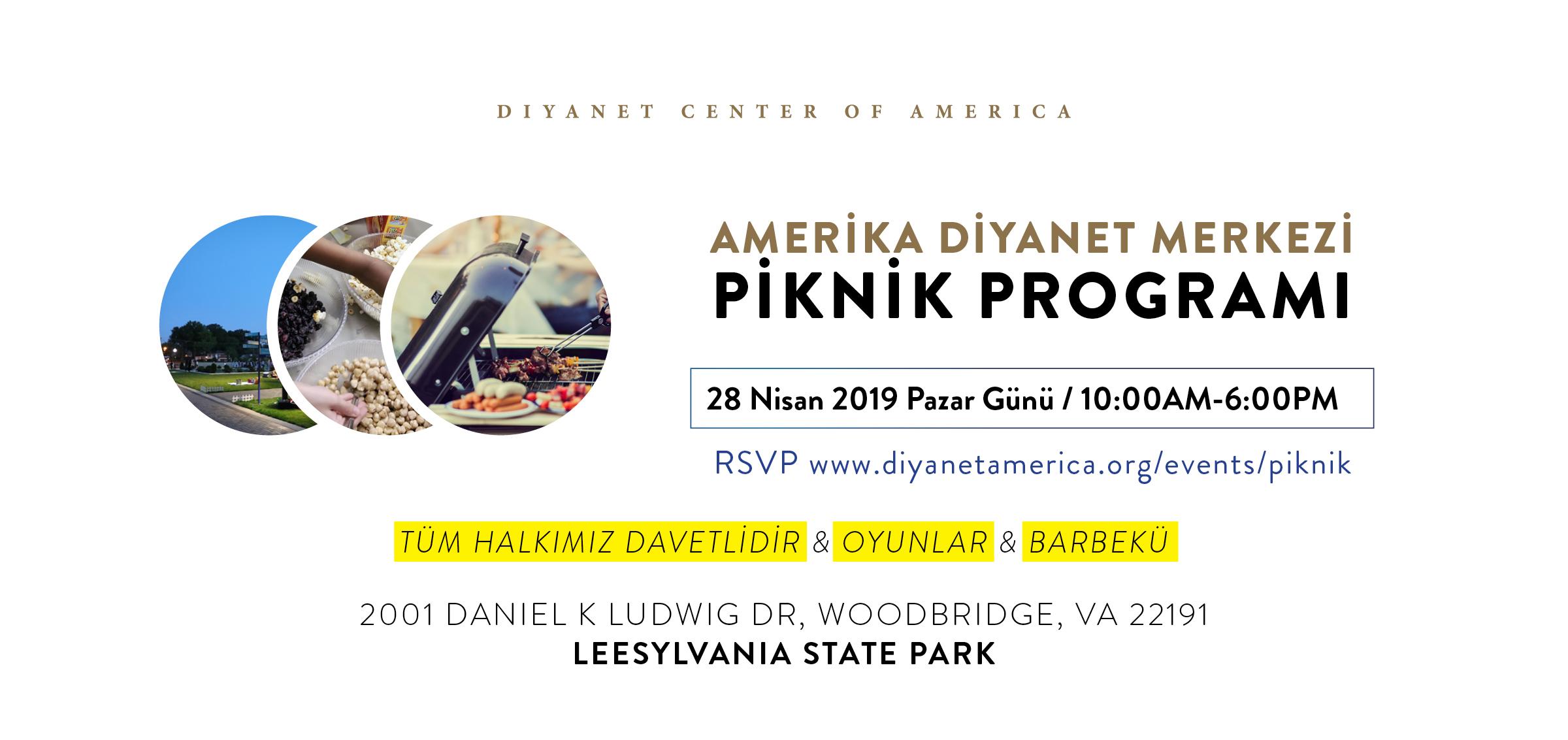 Amerika Diyanet Merkezi Piknik Programı