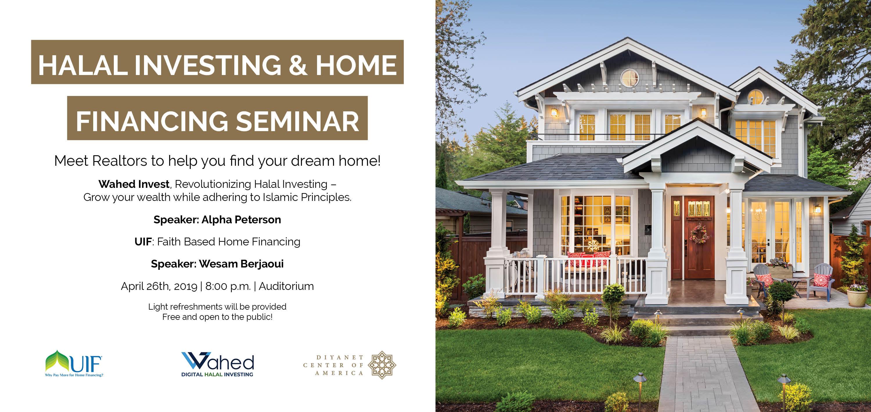 Halal Investing & Home Financing Seminar