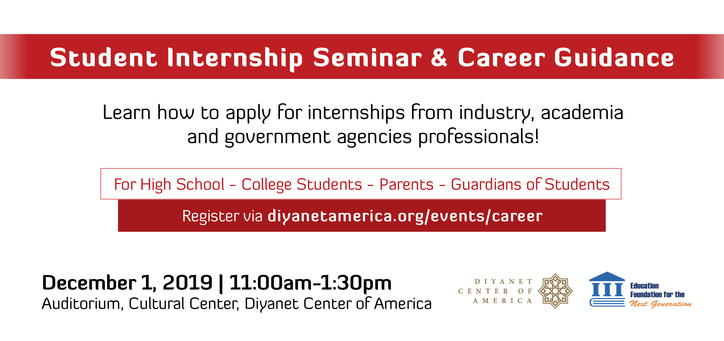Student Internship Seminar & Career Guidance