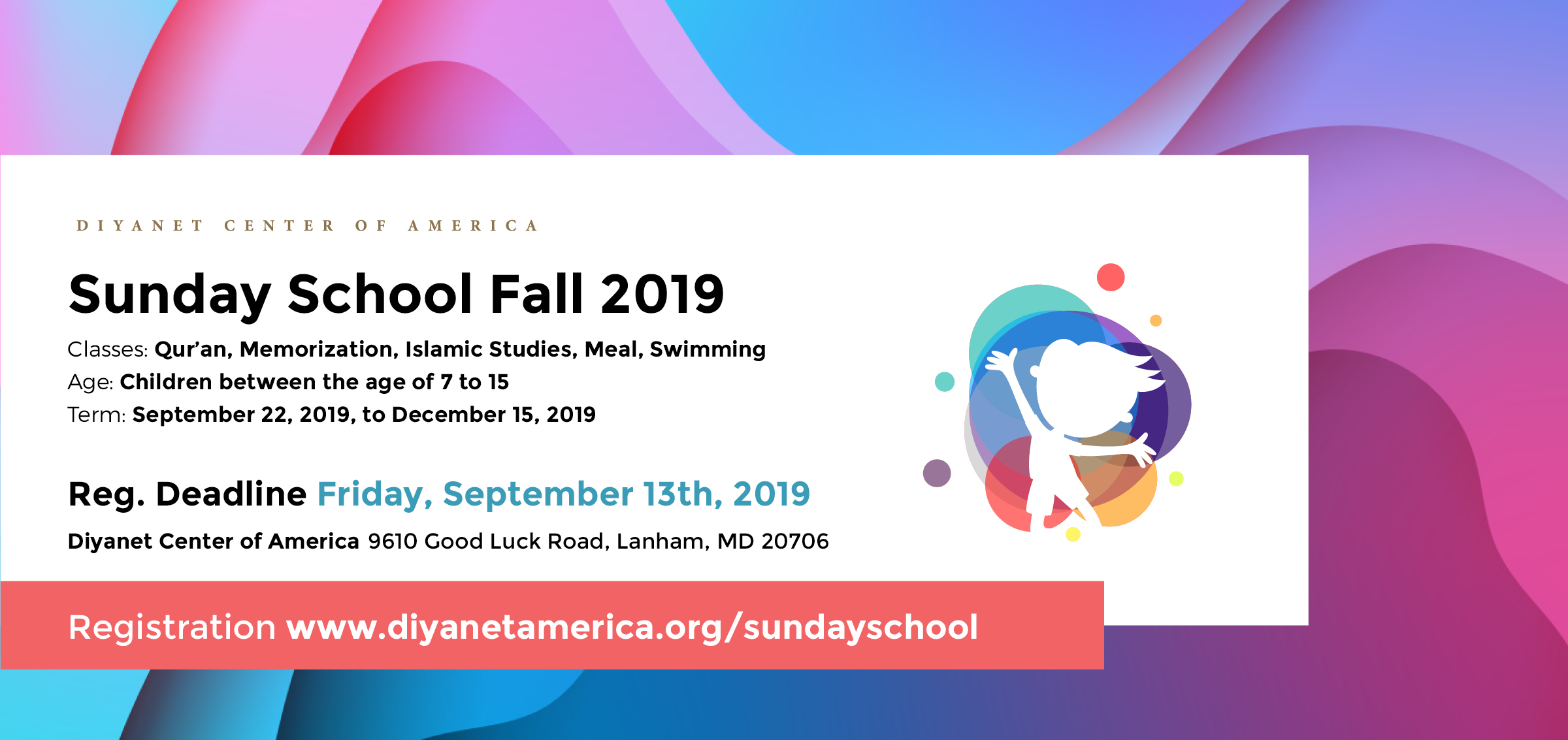 DCA Sunday School Fall Semester 2019