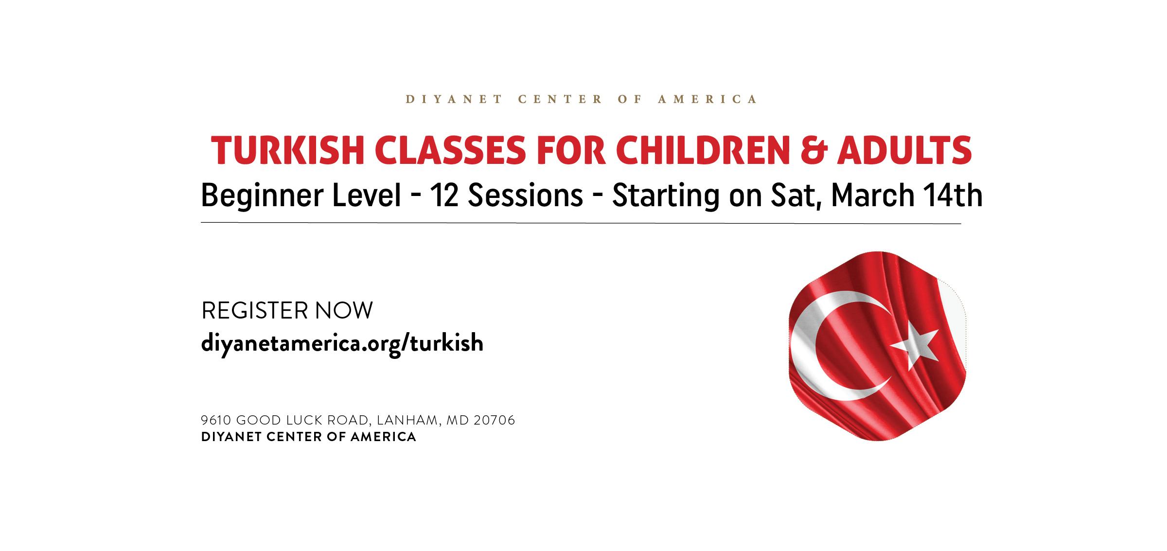 Turkish Language Classes - SUSPENDED