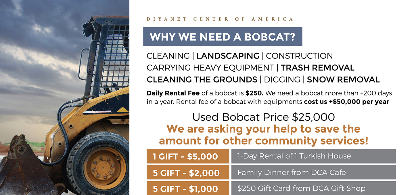 Buying a Bobcat for the Masjid - Fundraising Campaign