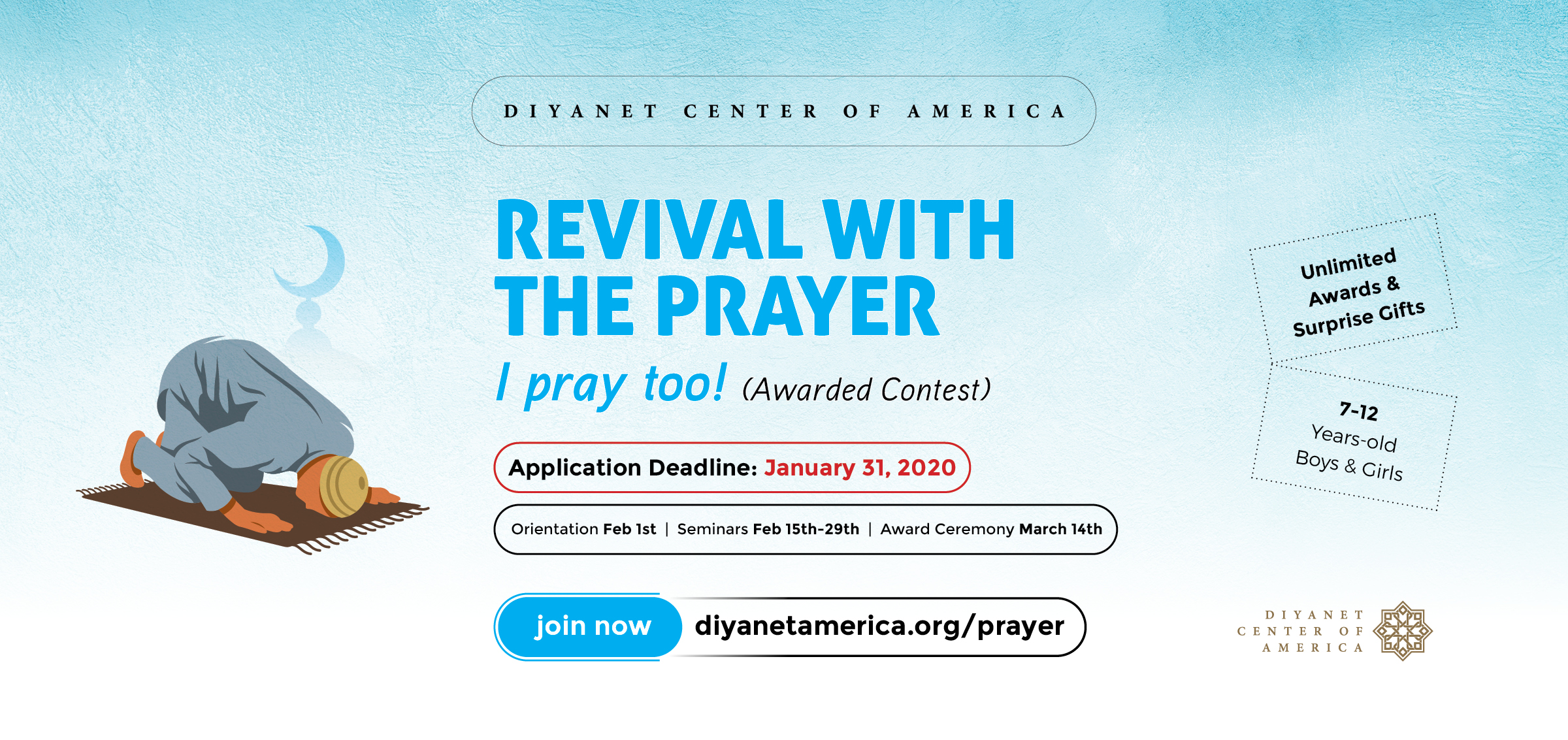 Revival With The Prayer - Awarded Competition
