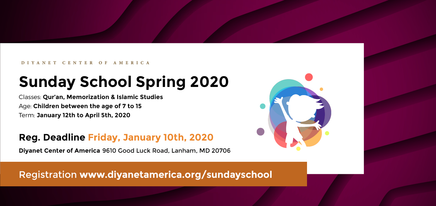DCA Sunday School Spring Semester 2020
