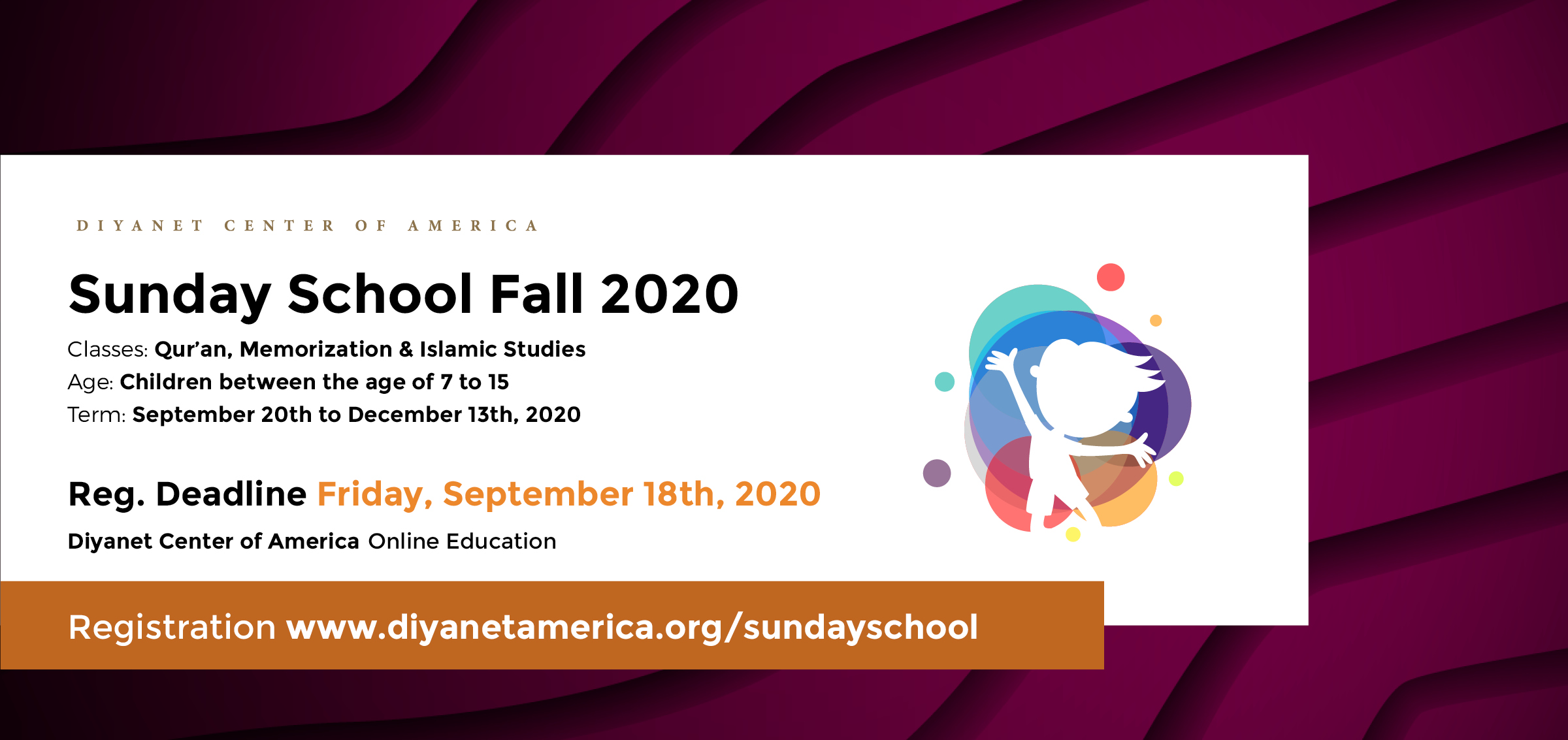 DCA Sunday School Fall Semester 2020